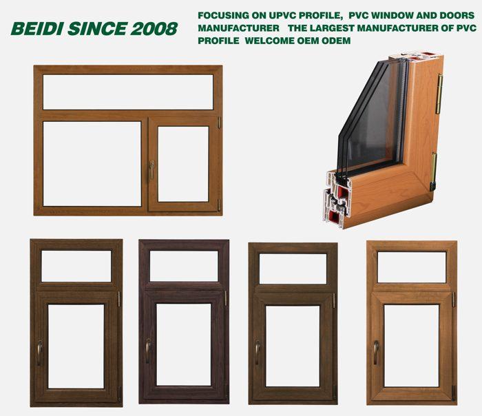 Upvc windows manufacturer beidi upvc profile advantages for Upvc window company